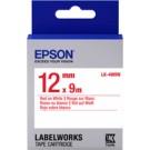Epson C53S654011 Rosso su bianco nastro per etichettatrice cod. C53S654011