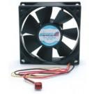 StarTech.com 8cm Dual Ball Bearing PC Case Cooling Fan w/RPM Sensor, 3-lead Connector - FANBOX2