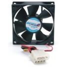 StarTech.com 8cm Dual Ball Bearing PC Case Cooling Fan w/Internal Power Connectors - FANBOX
