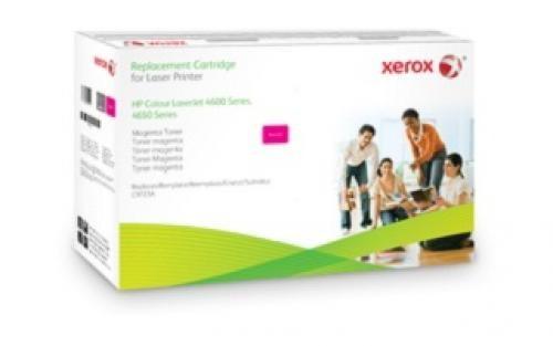 Xerox Cartuccia toner magenta. Equivalente a HP C9723A. Compatibile con HP Colour LaserJet 4600/4650 cod. 003R99621