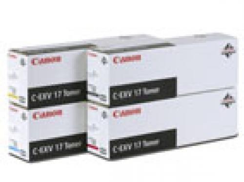 Canon C-EXV17 Toner Yellow Original Giallo 1 pezzo(i) cod. 0259B002