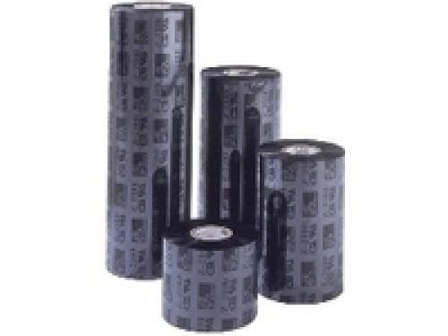 Zebra 3400 Wax Ribbon Black 156mm X 450m nastro per stampante cod. 03400BK15645