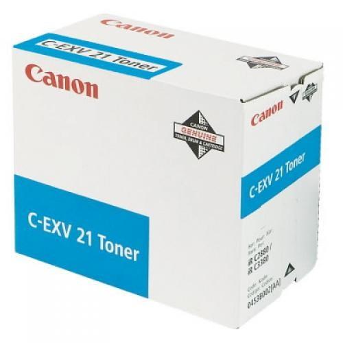 Canon C-EXV 21 Original Ciano 1 pezzo(i) cod. 0453B002