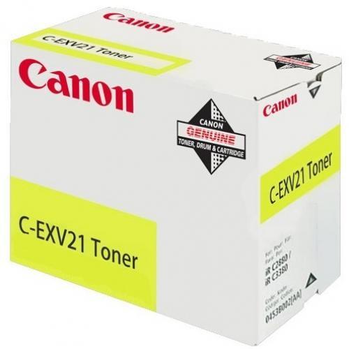 Canon C-EXV21 Original Yellow 1 pezzo(i) cod. 0455B002