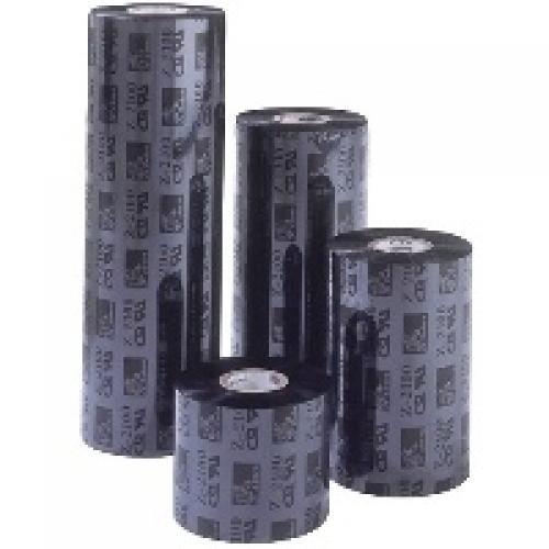 """Zebra Resin 4800 6.14"""" x 156mm nastro per stampante cod. 04800BK15645"""