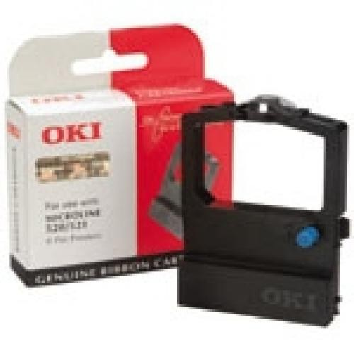 OKI Black Nylon Ribbon for ML520/521 - 09002315