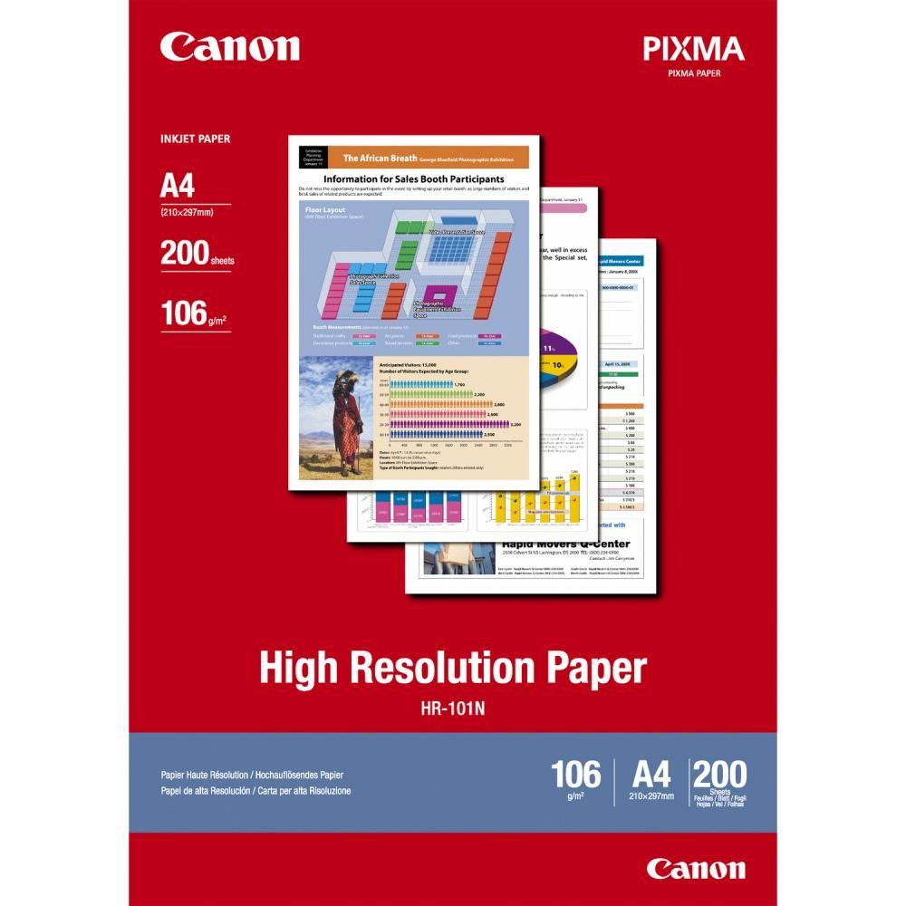 Canon Carta alta risoluzione A4 - 200 fogli cod. 1033A001