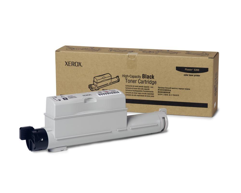 Xerox Cartuccia Toner Alta Capacità Nero, Phaser 6360 cod. 106R01221