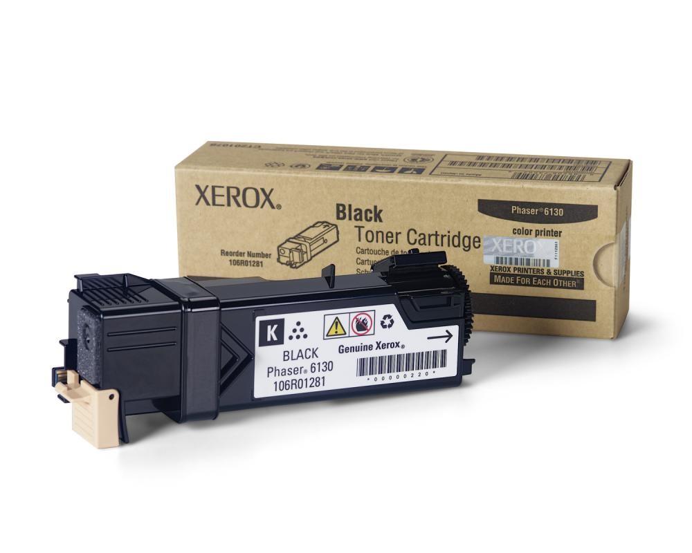 Xerox Cartuccia Toner Nero, Phaser 6130 cod. 106R01281