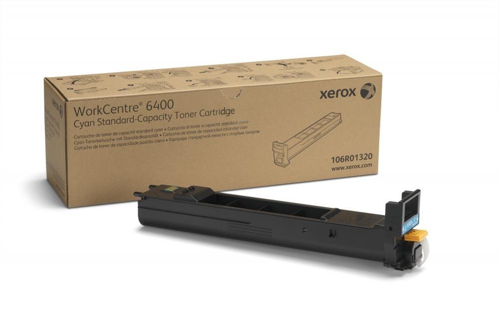 Xerox Standard Capacity Cyan Toner Cartridge (8000 pages) - 106R01320