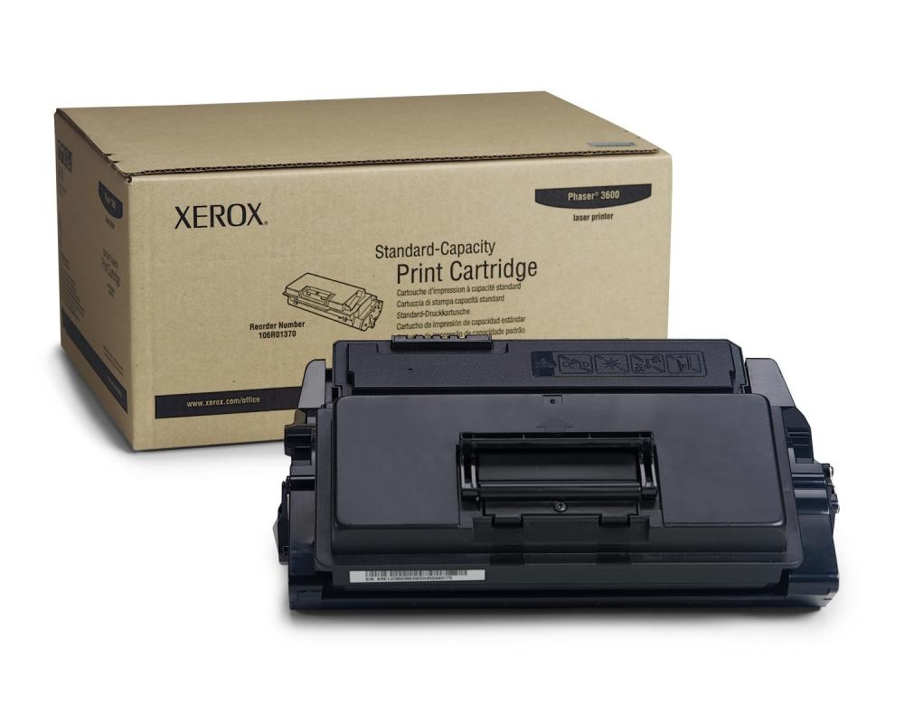 Xerox Phaser 3600 Standard Capacity Print Cartridge (7K) - 106R01370