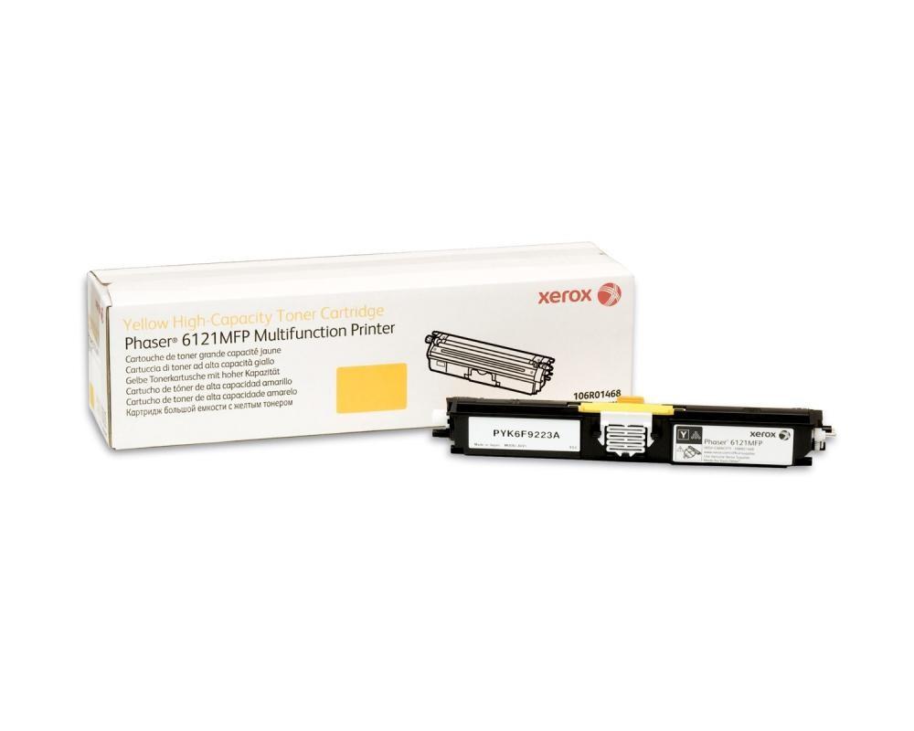 Xerox Phaser 6121MFP, Cartuccia toner giallo ad alta capacità (2600 pagine) cod. 106R01468