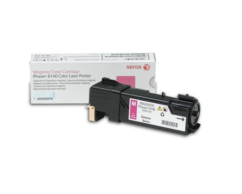 Xerox Phaser 6140, Cartuccia toner magenta capacità standard (2.000 pagine) cod. 106R01478