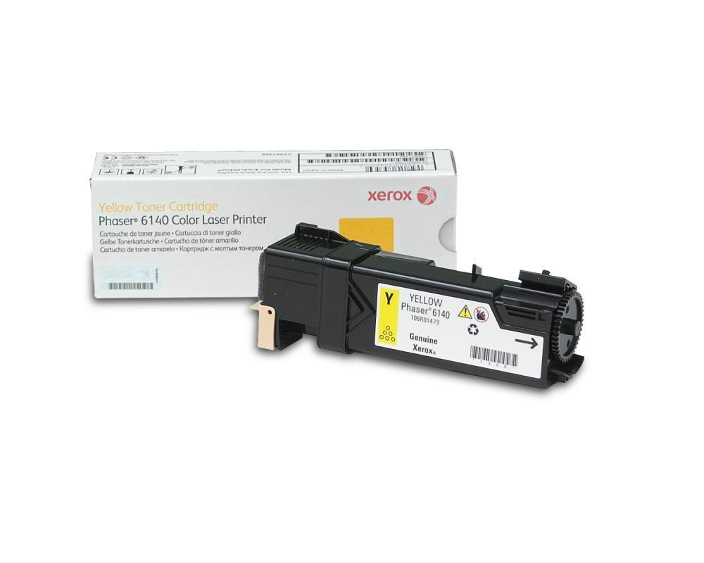 Xerox Phaser 6140, Cartuccia toner giallo capacità standard (2.000 pagine) cod. 106R01479