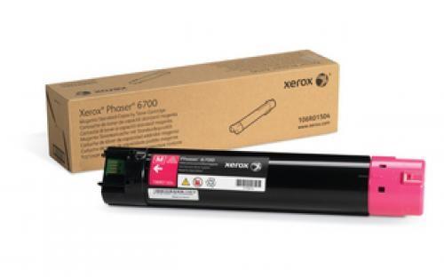 Xerox Magenta Standard Toner Cartridge Phaser 6700 - 106R01504