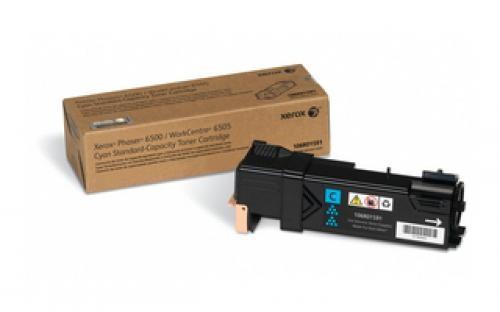 Xerox Phaser 6500/WorkCentre 6505, Cartuccia toner ciano capacità standard (1.000 pagine) cod. 106R01591