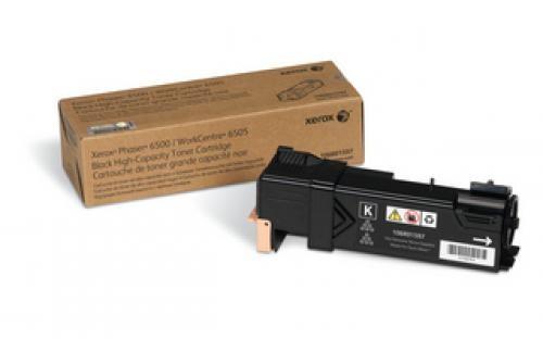 Xerox TONER NERO ALTA CAPACITÀ PER PHASER 6500 E WORKCENTRE 6505            CAPACITÀ 3000 PAGINE - 106R01597