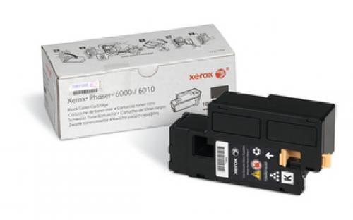 Xerox Phaser 6000/6010 / Workcentre 6015, Cartuccia toner nero capacità standard (2.000 pagine) cod. 106R01630