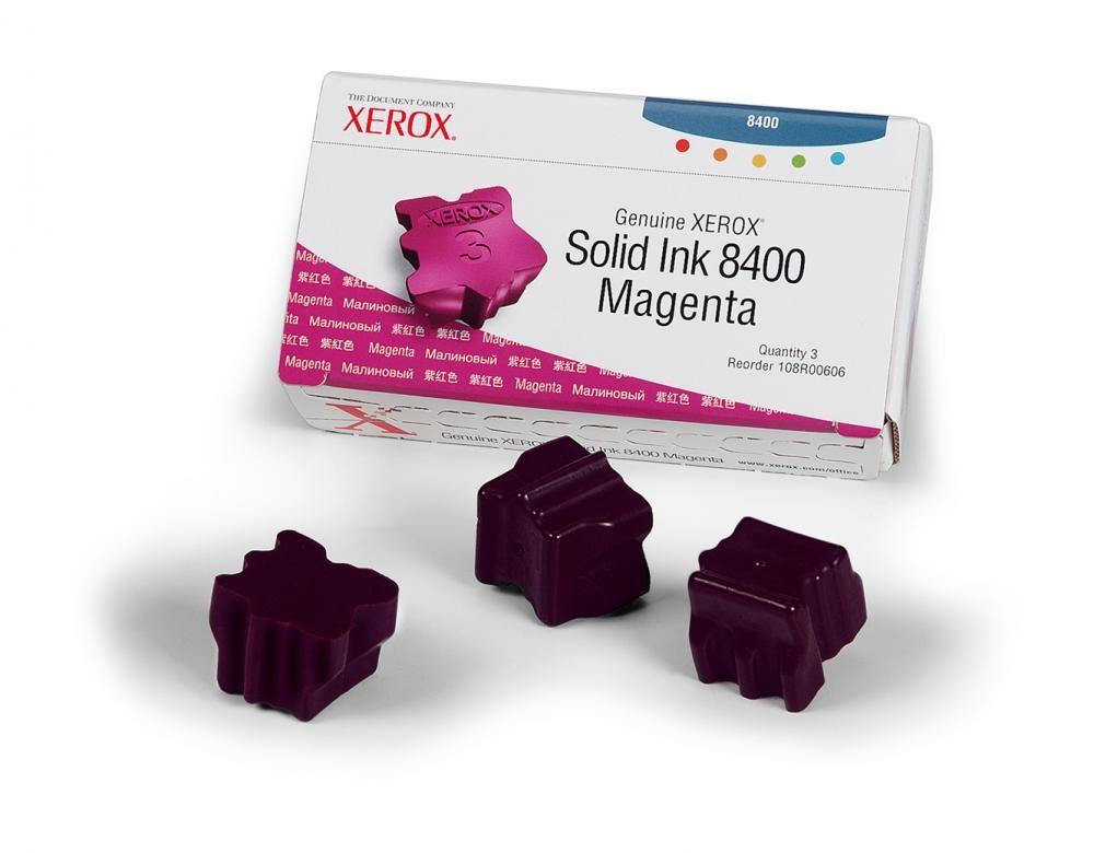 Xerox 108R00606 cartuccia stick 3 pezzo(i) Magenta 3400 pagine cod. 108R00606
