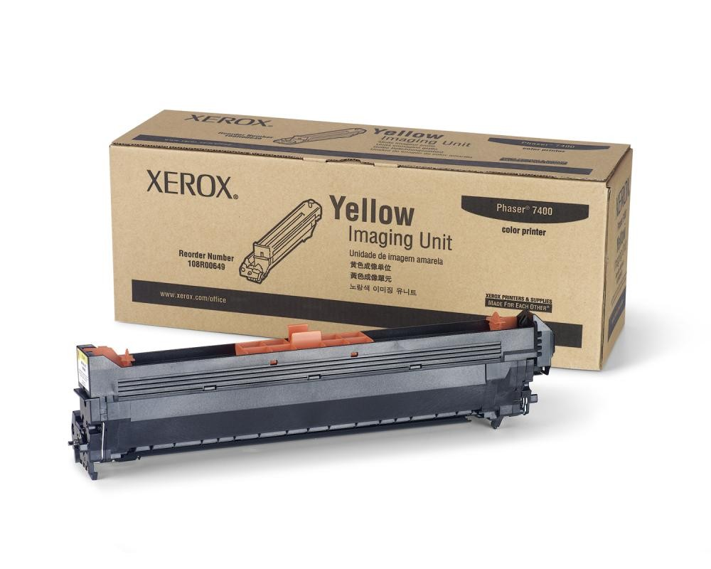 Xerox 108R00649 fotoconduttore e unità tamburo Giallo 30000 pagine cod. 108R00649