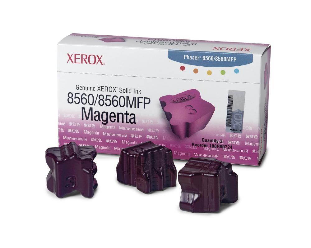 Xerox Inchiostro Solido Originale 8560MFP/8560 Magenta (3.400 pagine) cod. 108R00724