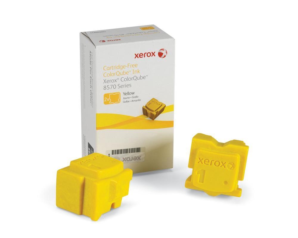 Xerox Inchiostro per ColorQube 8570, giallo (2 stick 4400 pagine) cod. 108R00933