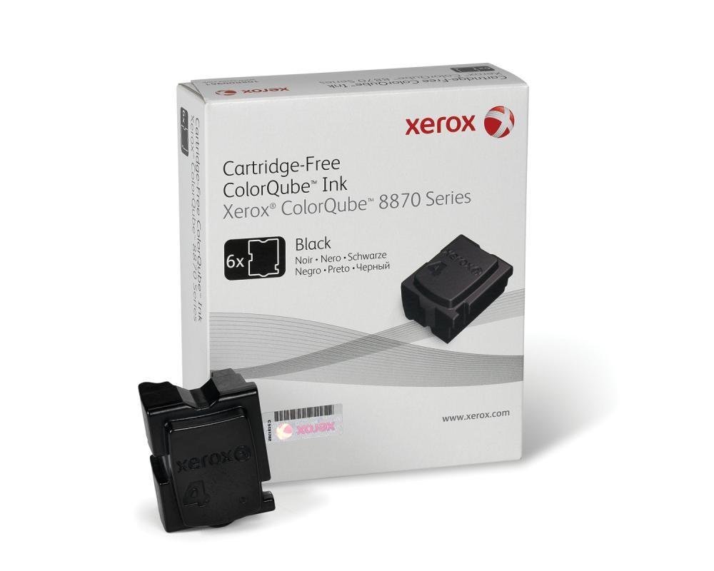 Xerox Inchiostro per ColorQube 8870, nero (6 stick 16700 pagine) cod. 108R00957