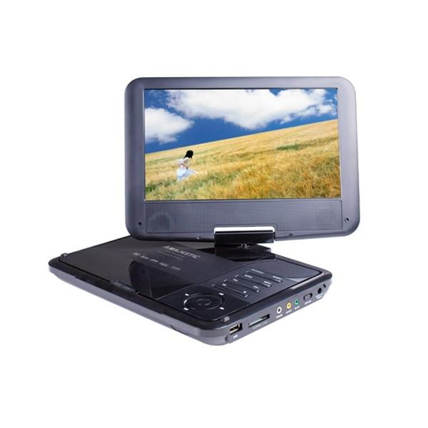 New Majestic MAJESTIC LETTORE DVD/MPEG4 9 LCD - 110180BK