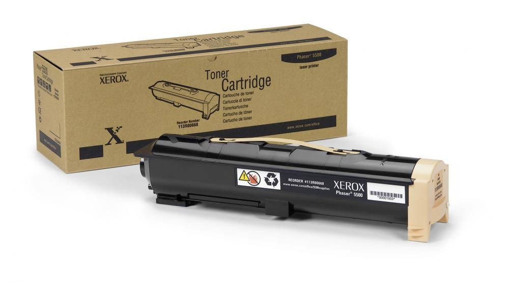 Xerox Phaser 5500 Toner Cartridge - 113R00668