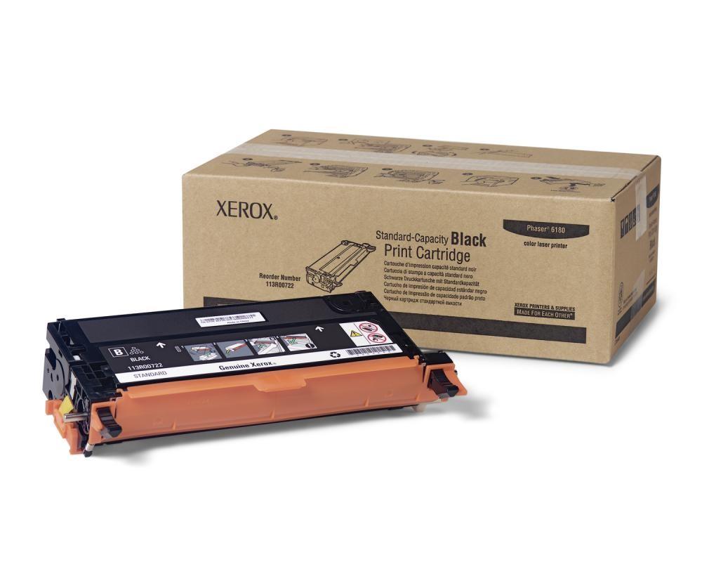 Xerox Cartuccia Stampa Capacità Standard Nero, Serie Phaser 6180 cod. 113R00722