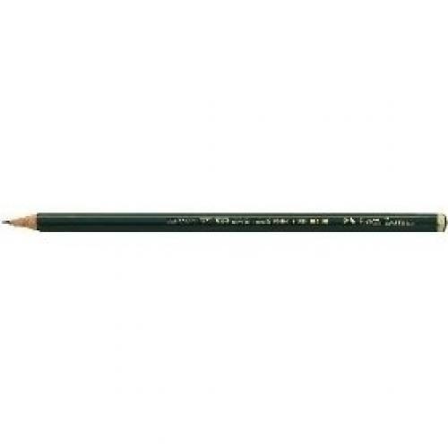 Faber-Castell Matita Castell 9000  H  in grafite di alta qualità  per scrivere  disegnare e schizzare (conf.12) - 119011