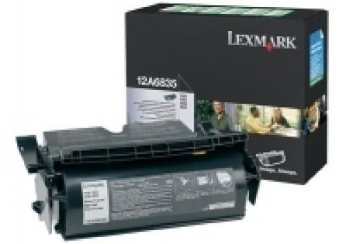 Lexmark T52X High Yield Return Program Print Cartridge (20K) Original Nero cod. 12A6835