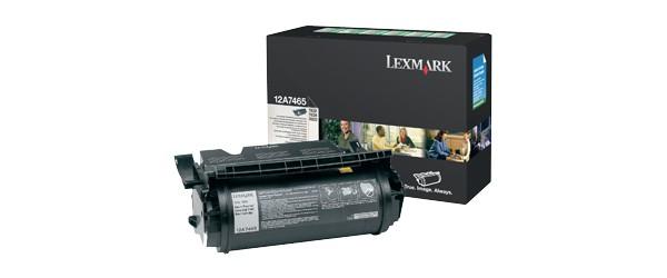 Lexmark 12A7465 cartuccia toner Original Nero 1 pezzo(i) cod. 12A7465