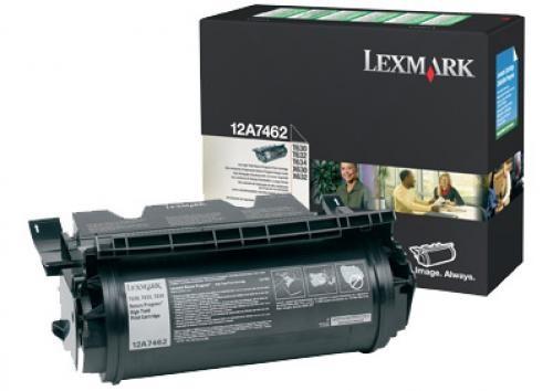 Lexmark 12A7612 cartuccia toner Original Nero cod. 12A7612