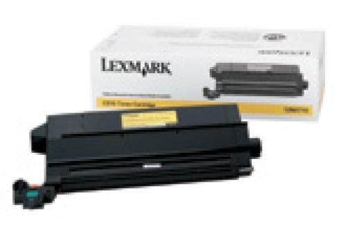 Lexmark C912, C910 14K gele tonercartridge - 12N0770