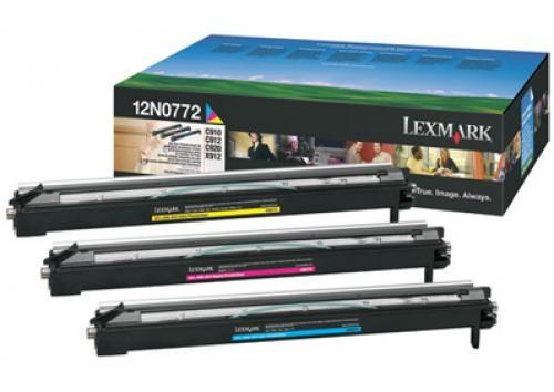 Lexmark C920, C91x 28K kleuren (CMY) photodev. kit - 12N0772