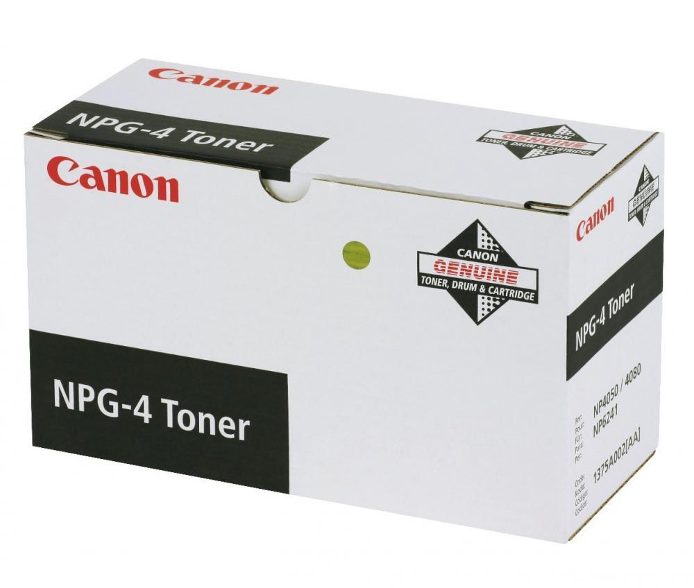 Canon NPG-4 Toner Original Nero 1 pezzo(i) cod. 1375A002