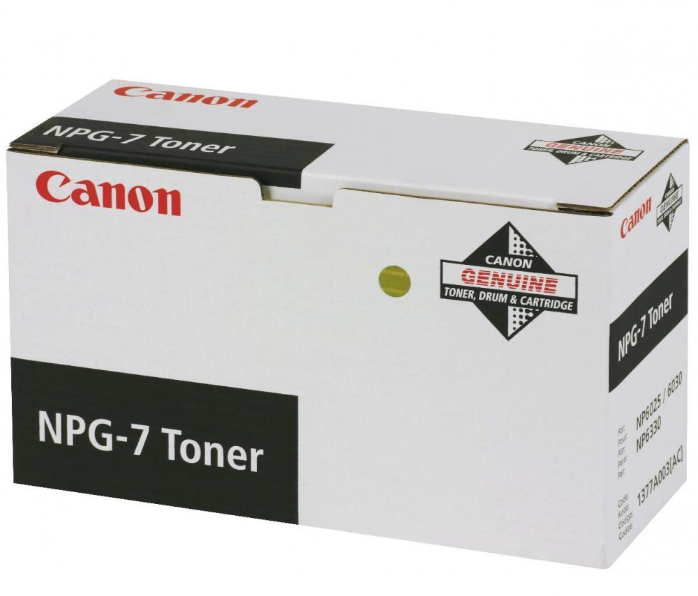 Canon NPG-7 Toner Original Nero cod. 1377A003