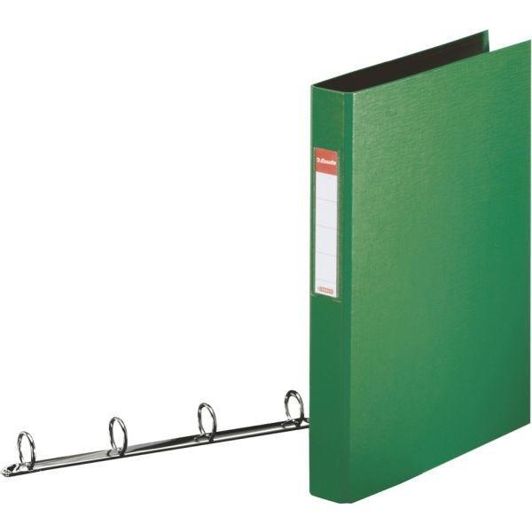 Esselte Standard Ring Binders , PP Green 4x25 mm raccoglitore ad anelli Verde cod. 14461