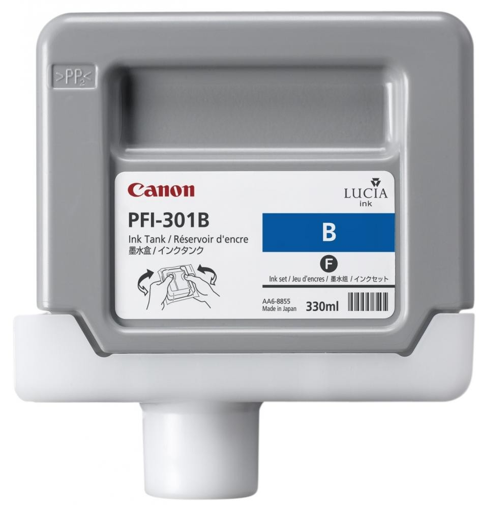 Canon PFI-301GY Pigment Blue Ink Cartridge Original Blu 1 pezzo(i) cod. 1494B001