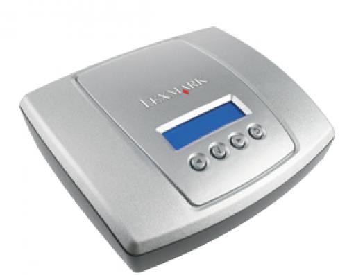 Lexmark MarkNet N7002e server di stampa LAN Ethernet Grigio, Argento cod. 14T0240
