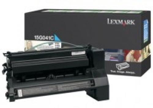 Lexmark 15G041C cartuccia toner Original Ciano 1 pezzo(i) cod. 15G041C