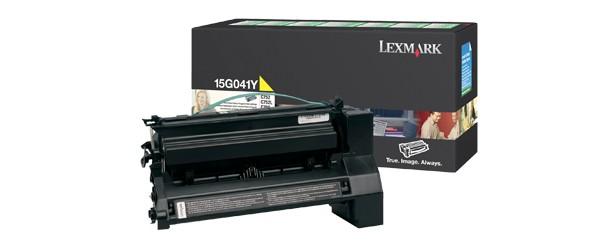 Lexmark 15G041Y cartuccia toner Original Giallo 1 pezzo(i) cod. 15G041Y