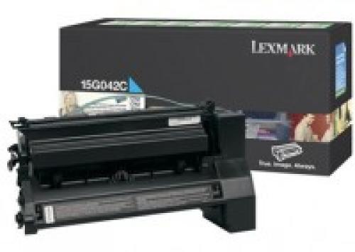 Lexmark 15G042C cartuccia toner Original Ciano 1 pezzo(i) cod. 15G042C