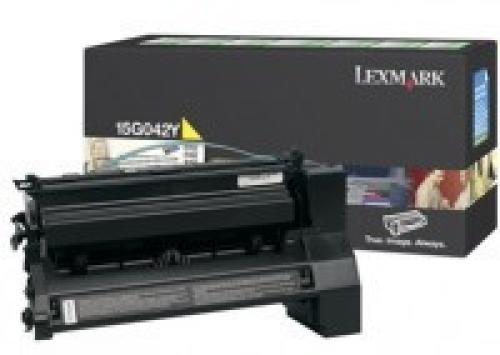 Lexmark 15G042Y cartuccia toner Original Giallo 1 pezzo(i) cod. 15G042Y