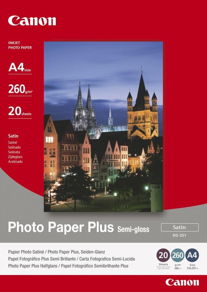 Canon SG-201 carta fotografica Satinata A4 cod. 1686B021
