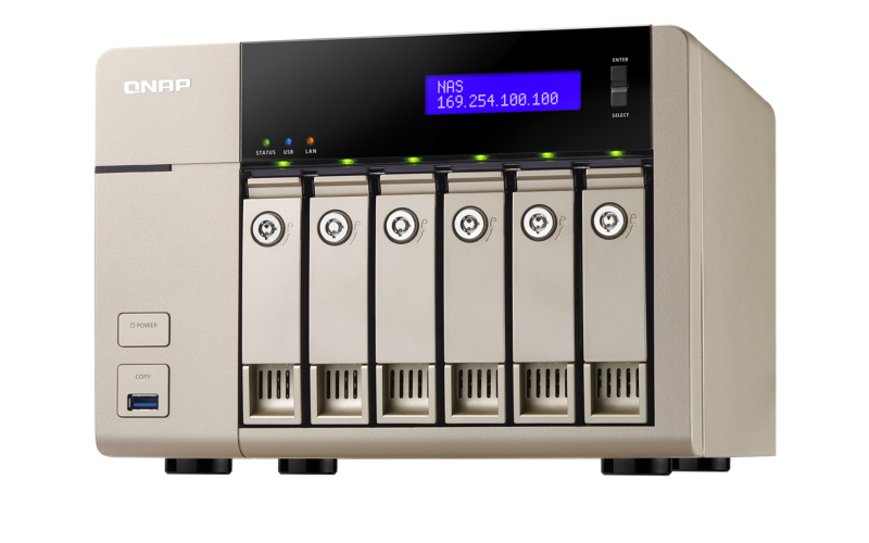 QNAP QNAP TVS-663-8G NAS, 0/6HDD - TVS-663-8G-RFB