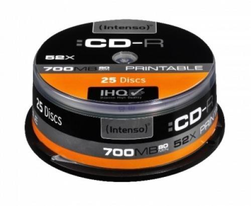 Intenso CD-R 700MB 25 pezzo(i) cod. 1801124