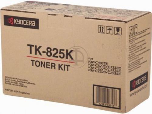 Kyocera TONER NERO TK-825K KM-C2520/3225/3232/2525E/3232E/4035E(15.000 PAG)   EX COD 0T2FZ0EU - 1T02FZ0EU0