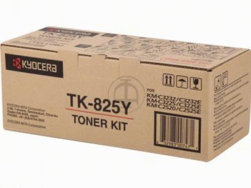 Kyocera TONER GIALLO TK-825Y KM-C2520/3225/3232/2525E/3232E/4035E(7.000 PAG) - 1T02FZAEU0
